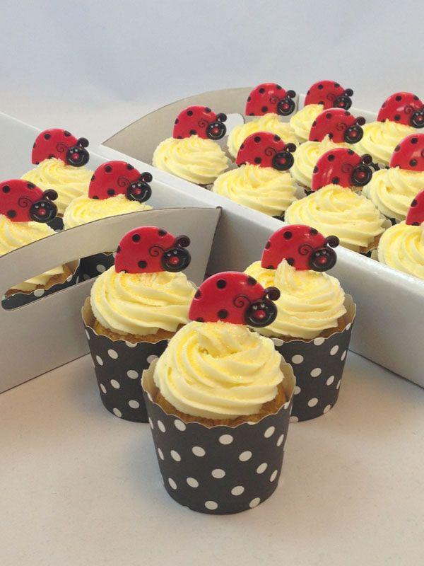 Ladybug Cupcake Kit. Click here http://www.icingonthecakekits.com/item_143/Ladybug-Cupcake-Kit.htm $39.95