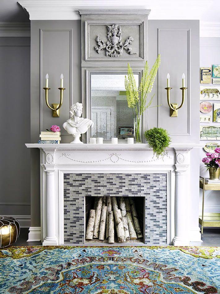 Дом в Нью-Йорке - красивый дизайн интерьера фото 01