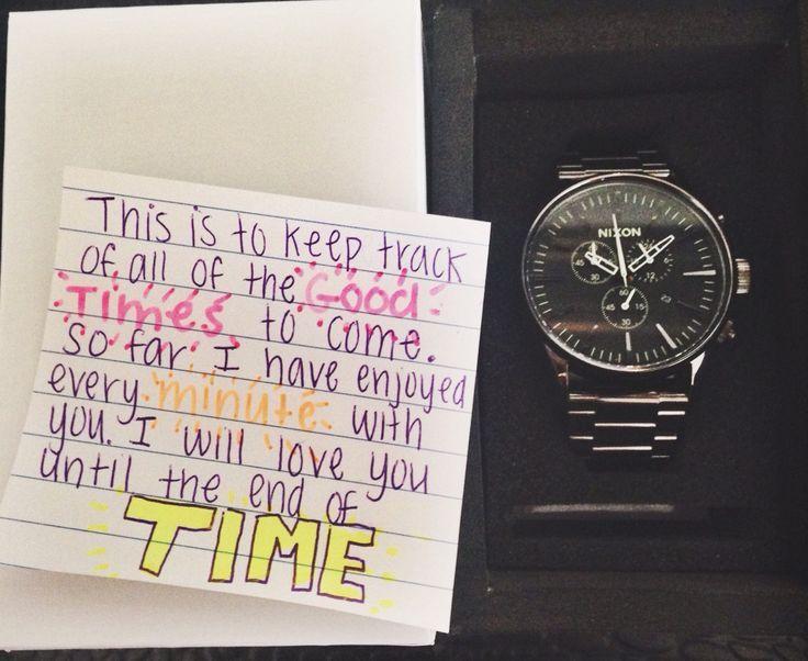 Boyfriend: Watch Gift Idea