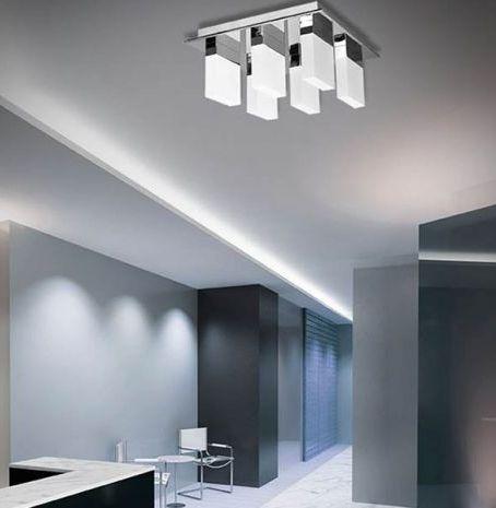 Kourtakis Lighting - LED #φωτιστικο #οροφης από μέταλλο και ακρυλικό. Σε #μοντερνο σχέδιο, με διαστάσεις 40 x 40cm, που ταιριάζει σε όλους τους χώρους. Οι έξι ενσωματωμένοι LED λαμπτήρες προσφέρουν θερμό λευκό φωτισμό. Δείτε περισσότερες λεπτομέρειες: http://kourtakis-lighting.gr/fotistika-orofis-indoor-fotistika-krebatokamaras-fotistika-saloniou-diakosmisi/3513-led-moderno-fotistiko-orofis-6x6watt-plafoniera-metallo-akryliko-cielo-mx13009006-6a.html