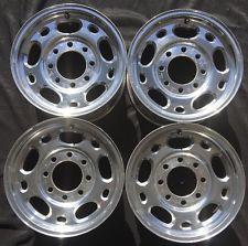4 Chevy Silverado Duramax 2500-HD GMC Aluminum Wheels 8 Lug Rim Factory OEM 5079