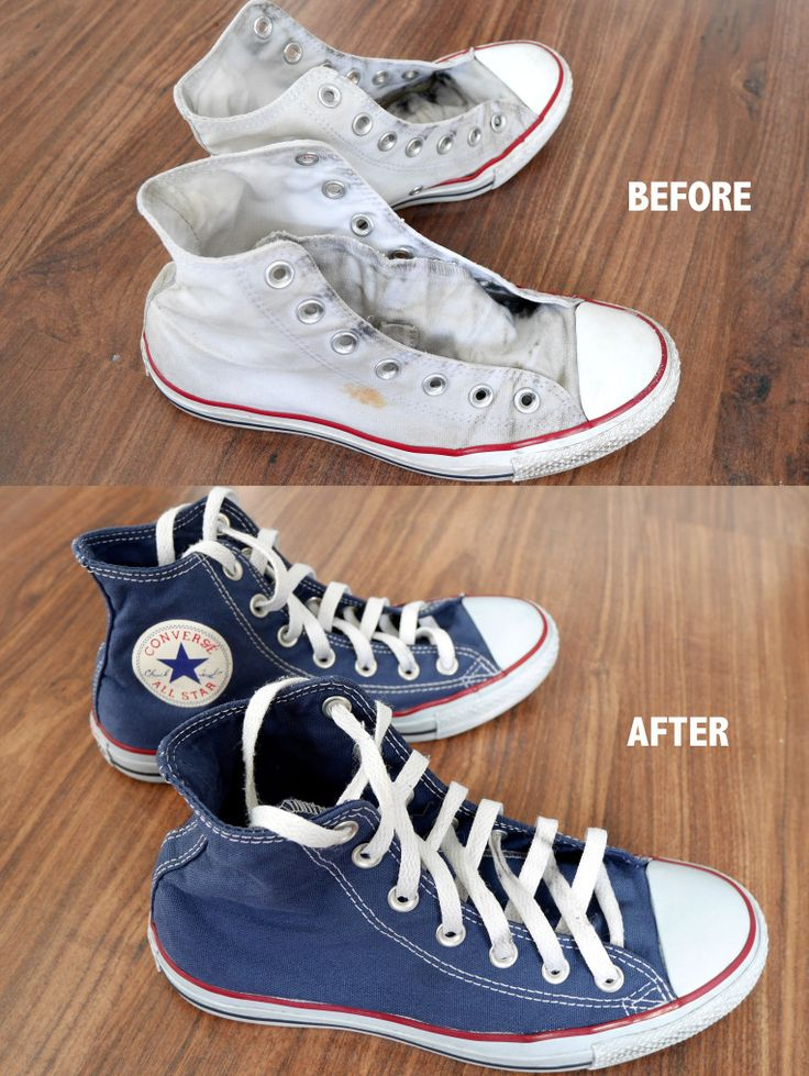 DIY - New life for your old Converse shoes