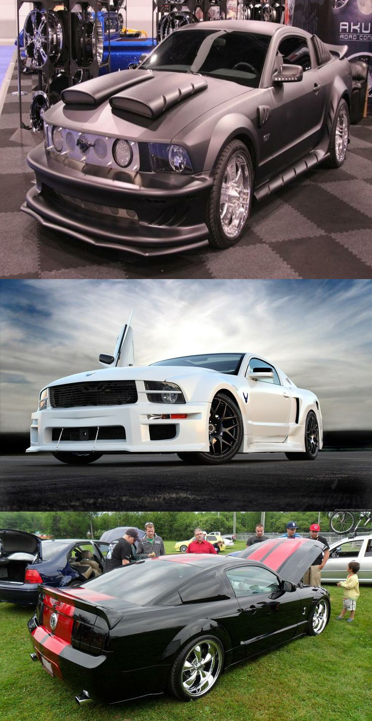 Bbw saleen mustang custom design