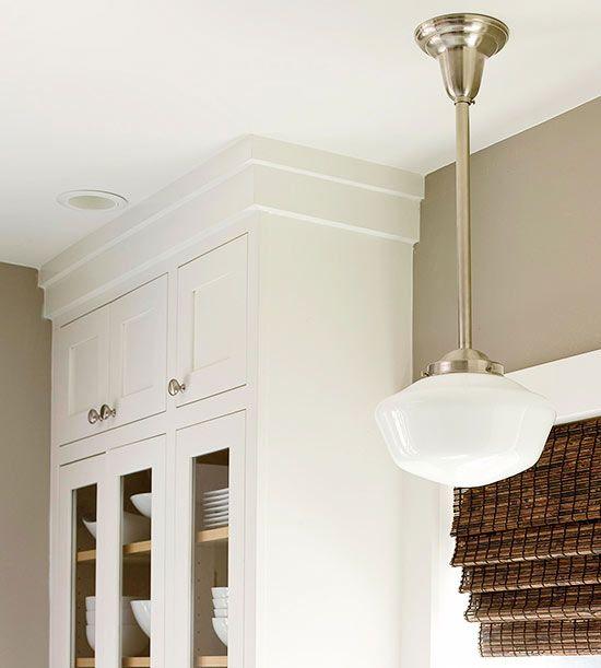 25 best ideas about crown molding kitchen on pinterest above kitchen cabinets closed kitchen. Black Bedroom Furniture Sets. Home Design Ideas