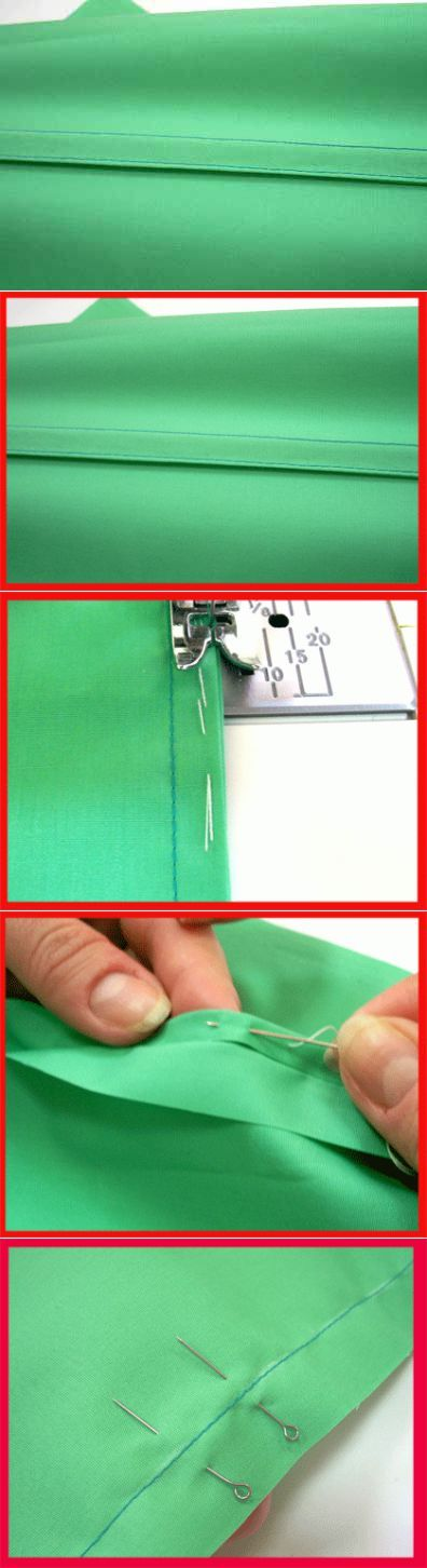 La costura francesa - la clase maestra