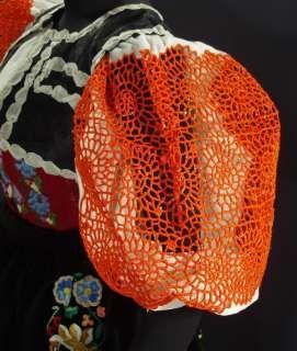 Detail of the Detva folk costume