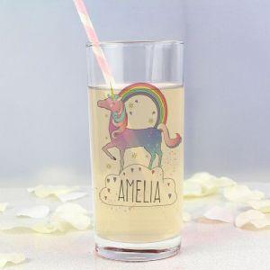 Unicorn Hi Ball Glass