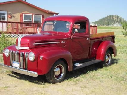 Restored 1947 Ford Pickup Truck For Sale