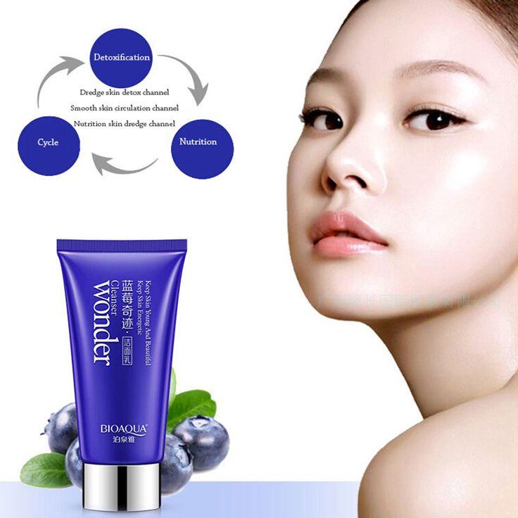 Blueberry milagro limpiador blanqueamiento e hidratante hidratante limpia los poros