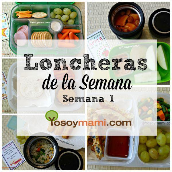 Loncheras de la Semana - Semana 1 | YoSoyMami.com