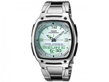 Relógio de Pulso Masculino Esportivo Anadigi - Cronômetro Casio AW 81D 7AVDF