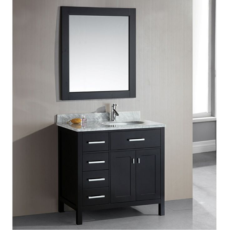 sink lander cabinet and blue vanity bathroom