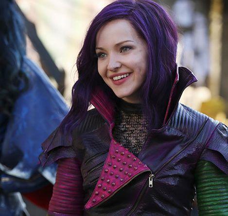 Beautiful Dove Cameron as Mal in Disney Channel's original movie Descendants.