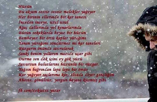 #şiir #hüzün #zekiates