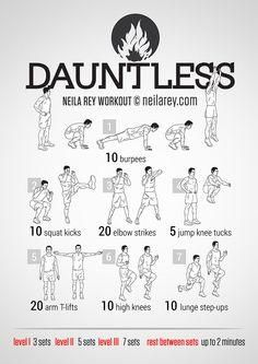 Dauntless / Divergent Workout