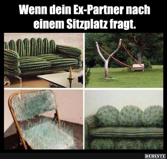 Wenn dein Ex-Partner nach einem Sitzplatz fragt..   Lustige Bilder, Sprüche, Witze, echt lustig