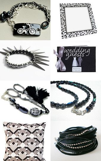 Simply Monochrome by Carolyn Ford on Etsy--Pinned with TreasuryPin.com