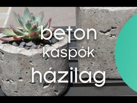 Beton cserepek házilag - kert.tv