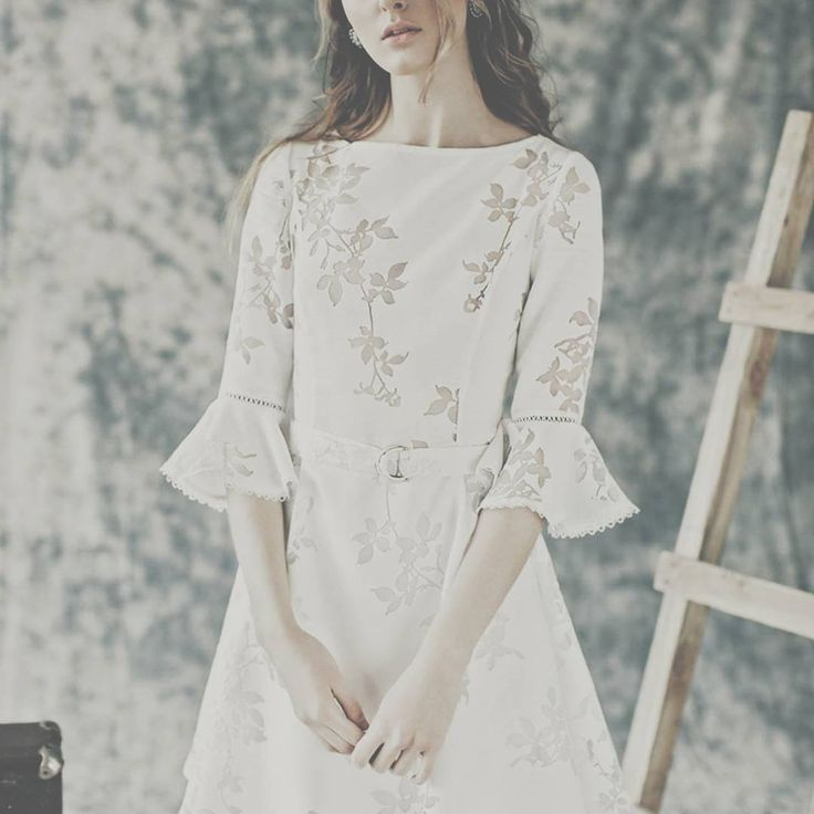 Pure white #dress #maisonraquette #raquette #campaign