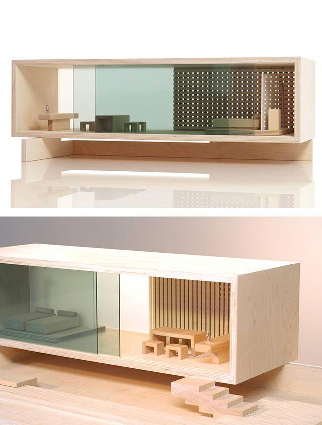 Modern Doll Houses: Sirch Sibis