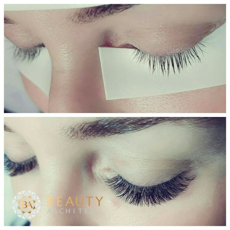 Volume lashes ❤ Made with love by Beautyarchitect.dk ❤