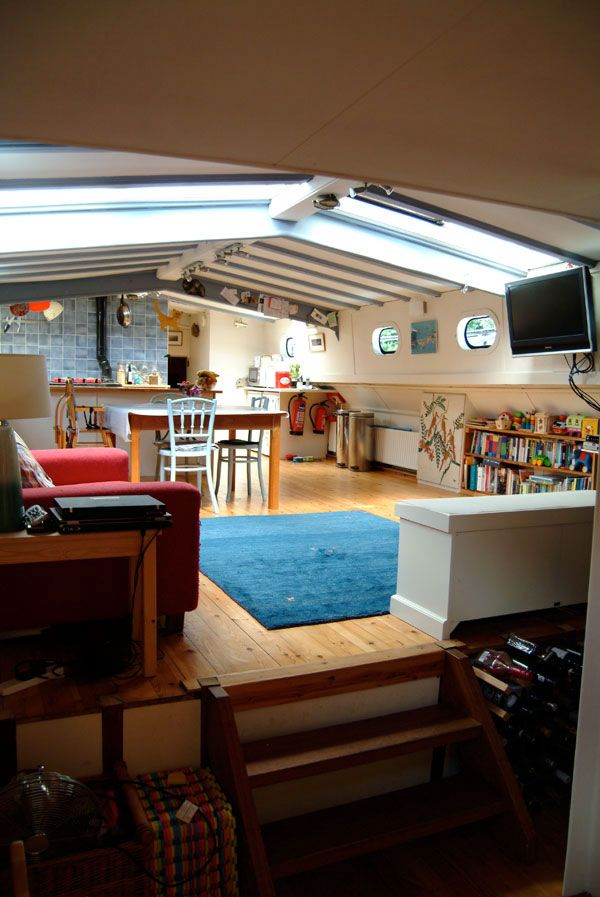61 Best Dutch Barge Interior Images On Pinterest Dutch