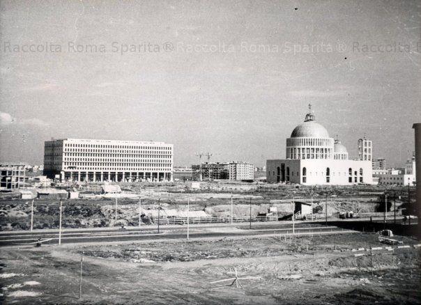 Roma Sparita - il quartiere Don Bosco in costruzione forse 1958