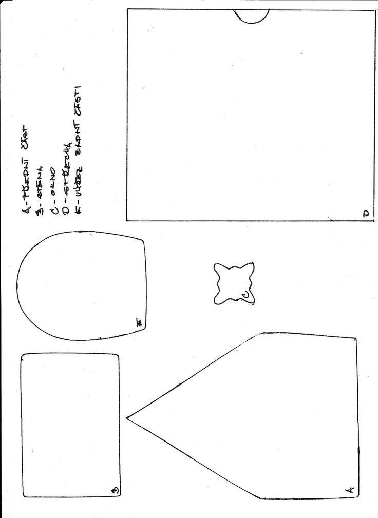 IvanaM: Perníková chaloupka - návod 1. část