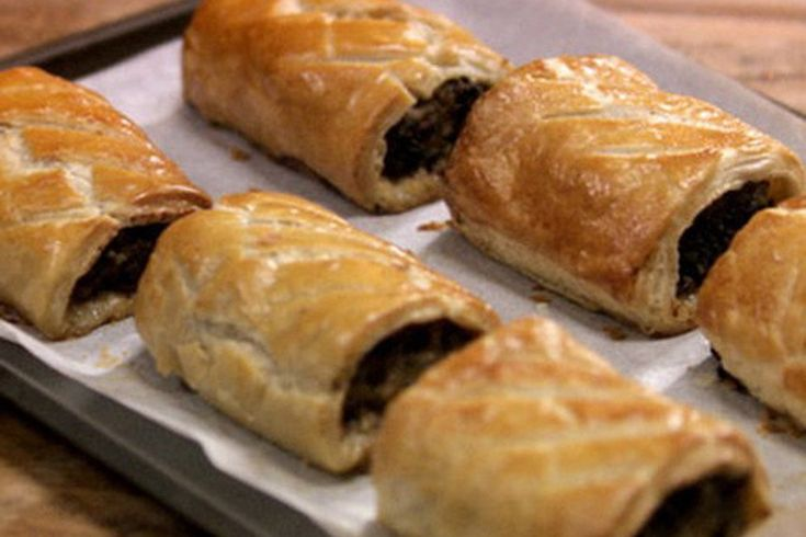 8 best baking recipes images on pinterest baking recipes for Sausage roll recipe uk