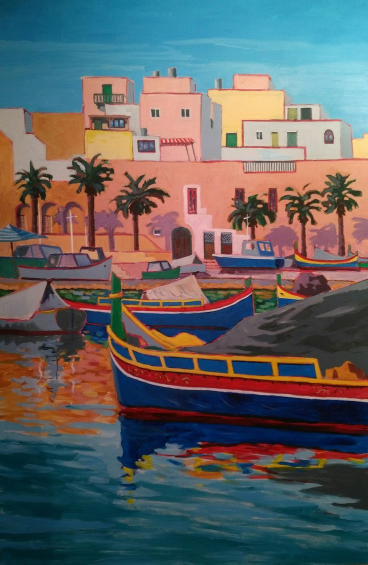 MALTESE BOATS AT MARSAXLOKK UPDATED