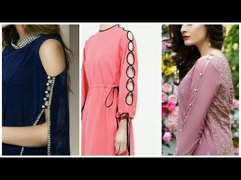 4398a7410b LATEST BEAUTIFUL STYLISH SLEEVES DESIGN FOR GIRLS 2018 - YouTube ...
