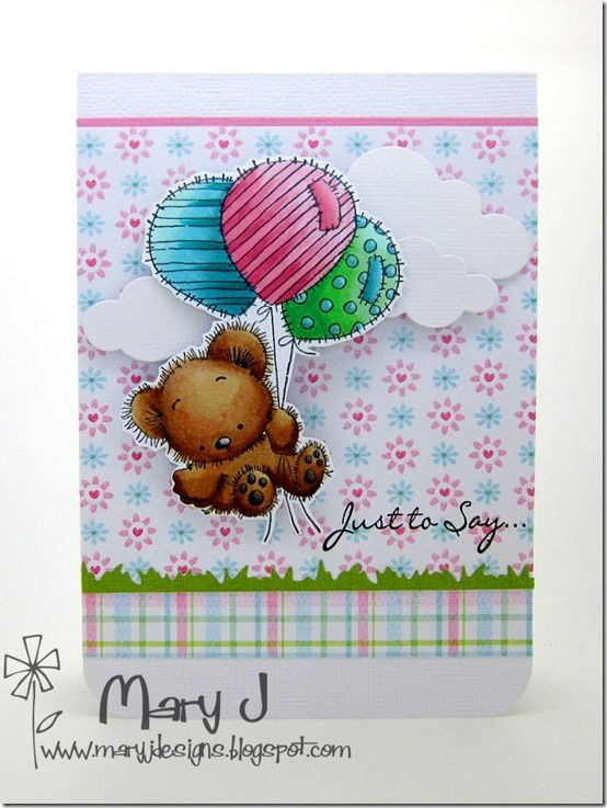LOTV - Patchwork Bunch of Balloons by DT Mary J