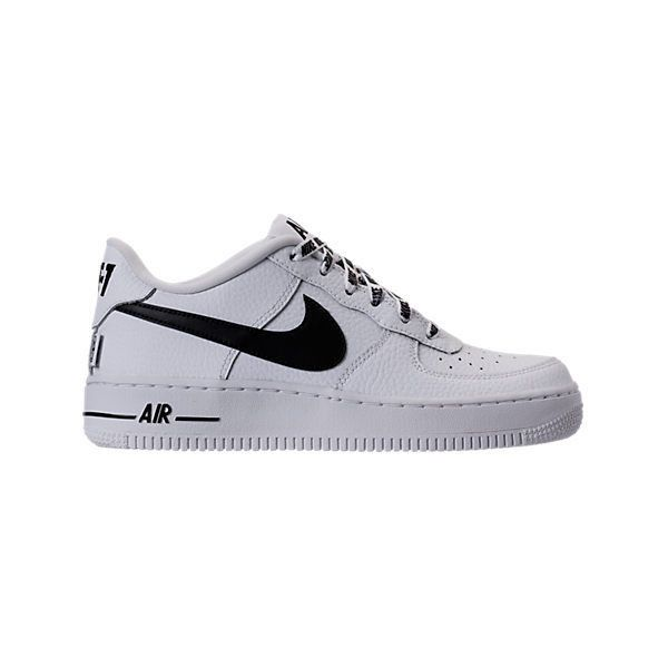 newest collection 1acdb b2843 Boys  Grade School Nike NBA Air Force 1 Low LV8 Casual Shoes  Finish...  ( 85) ❤ liked on Polyvore featuring nike