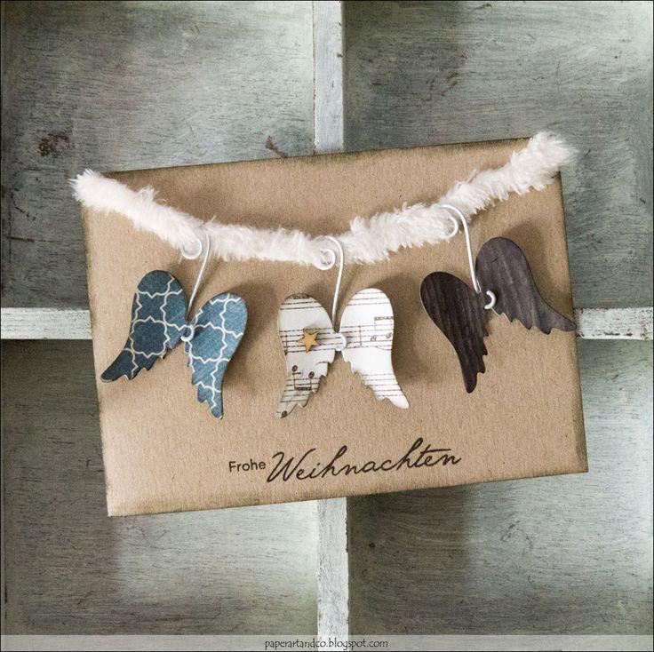 """Heute kommt die letzte Karte aus der Serie """"Mary Jane´s Weihnachtskarten Challenge"""". Ich freue mich sehr, dass ich einige von euch dazu insp…"""