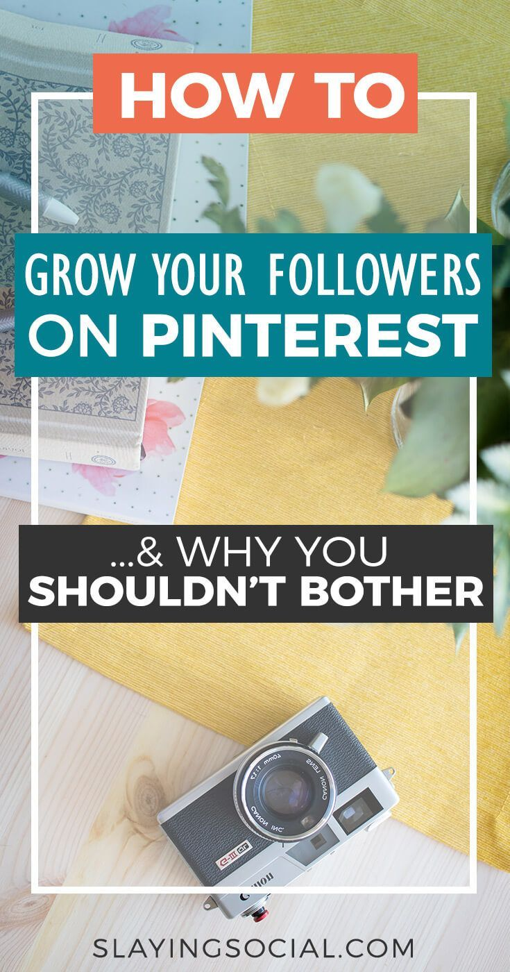 Pinterest is a crucial traffic source for any blog, brand, or business. But how do you get more followers on Pinterest, and should you even bother? Expert tips for growing your followers on Pinterest... and why they don't matter as much as you'd think.