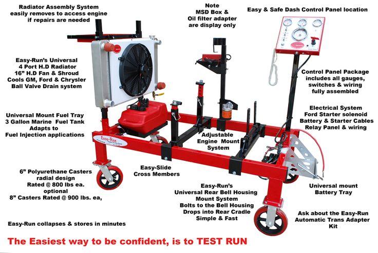 27 best easy run engine stand in the media images on pinterest rh pinterest com Harbor Freight Engine Run Stand Diagram Engine Run Stand