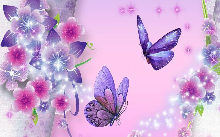 butterflies abstract Desktop Wallpaper   Purple Butterfly Backgrounds - HD Wallpapers