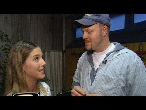 Jeanette Biedermann flirtet mit Raab - TV total classic