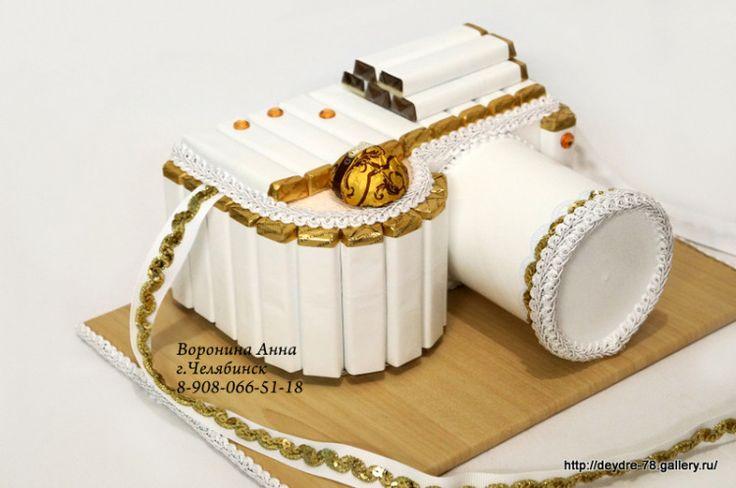 Gallery.ru / Фотоаппарат из шоколада - Скульптурные композиции из конфет в Челябинске 2 - Deydre-78