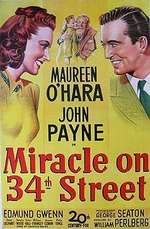 Miracle on 34th Street - Original Black and White version!