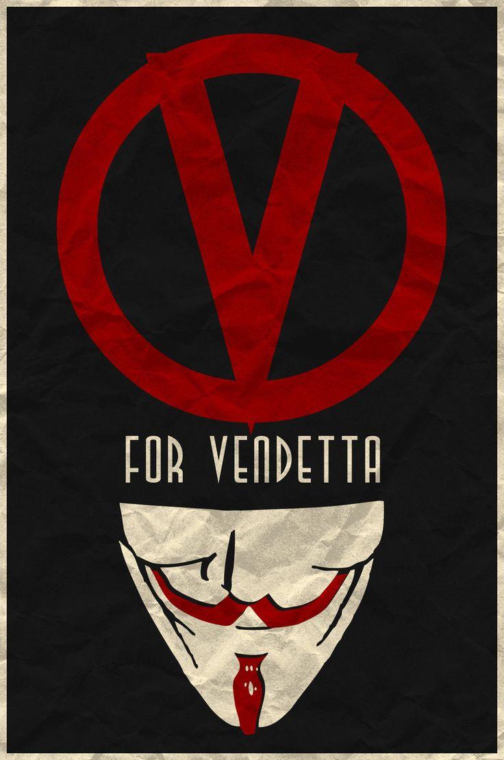 v for vendetta minimalist movie posters pinterest