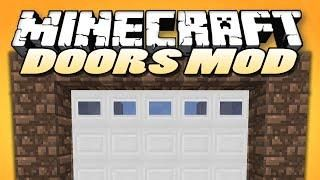 "Minecraft Mods | MALISIS DOORS | ""Sliding Doors, Block Mixing"" 