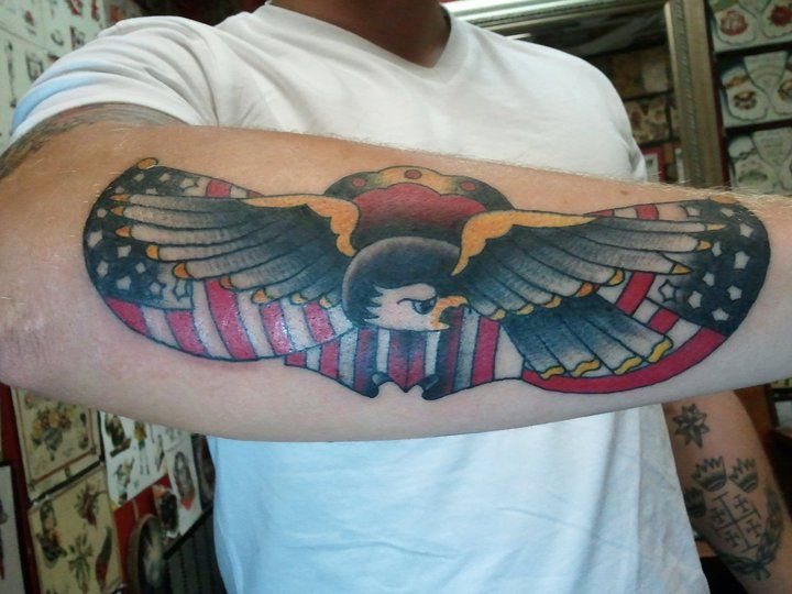 Americana tattoo by New Life Tattoos