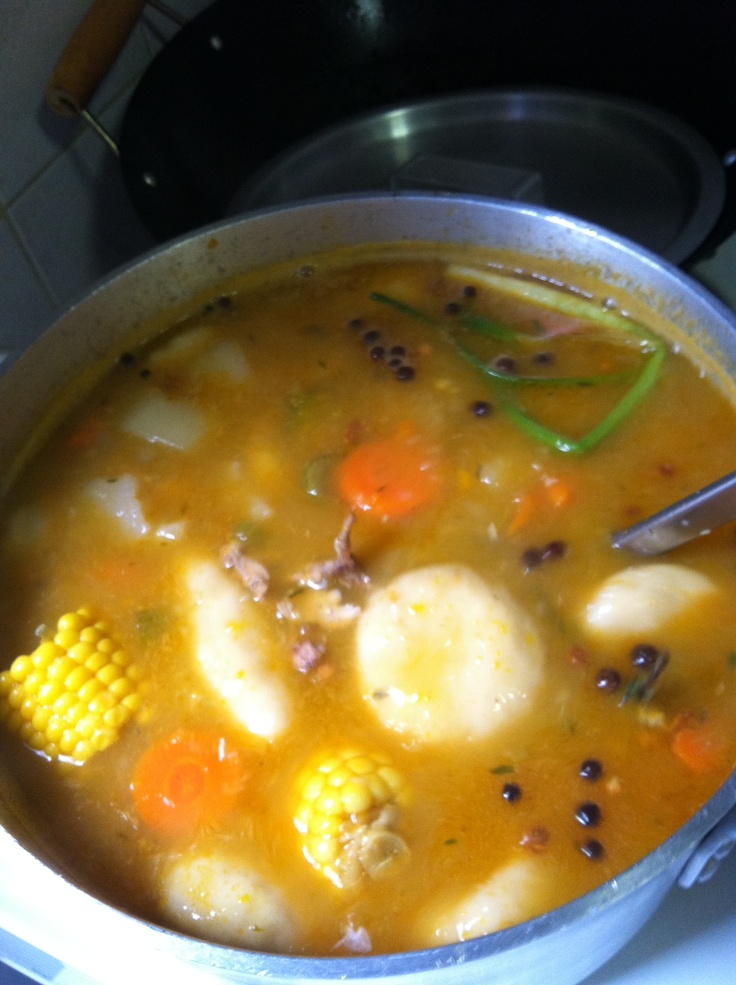 chicken soupjamaican style  jamaican recipes