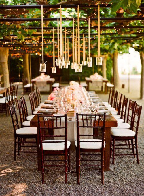 : Wedding Inspiration, Wedding Ideas, Table Setting, Dream Wedding, Wedding Reception, Weddingideas, Garden, Party Ideas, Outdoor Weddings