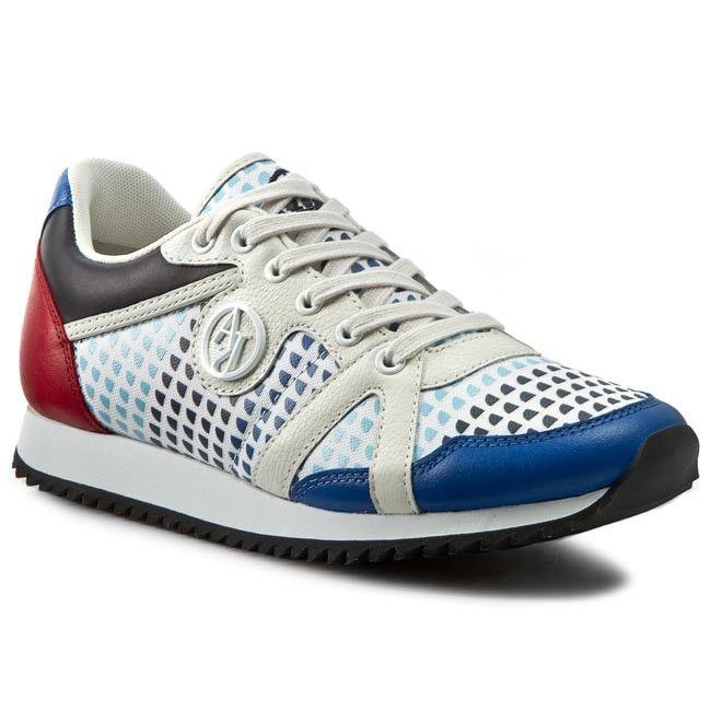 Sneakersy ARMANI JEANS - C55C5 53 F8 Blue
