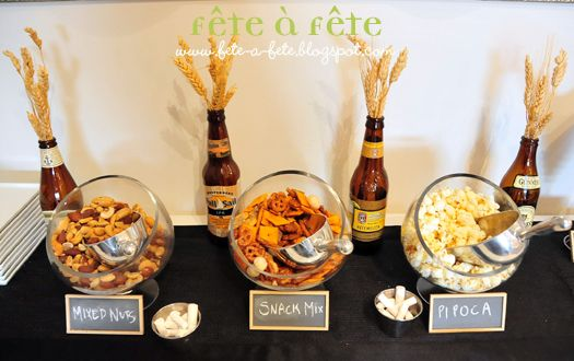 Fête à Fête: A black & white beer tasting party with dear (and thirsty) friends