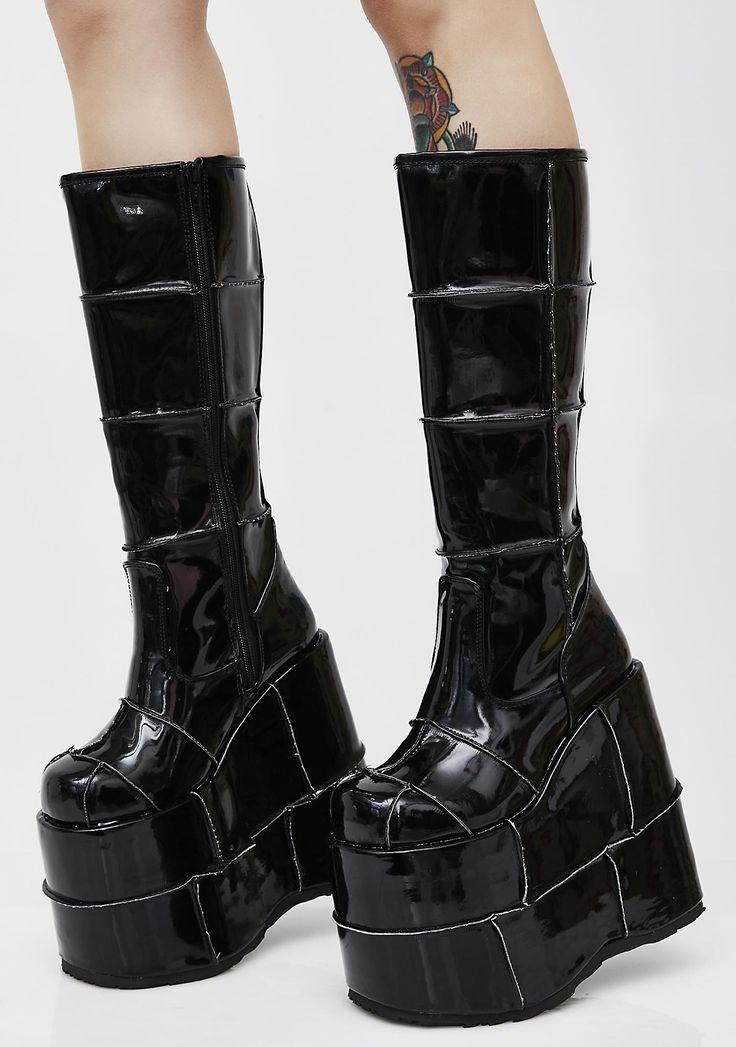 94 Best Punk Rave Images On Pinterest Black Boots Black