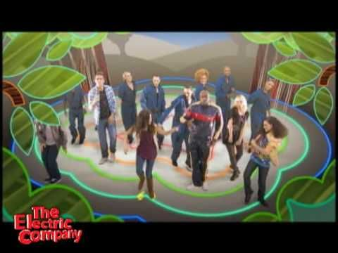 """Great 3-minute break for kids to move their brains in a new direction - both mental and physical break!   THE ELECTRIC COMPANY: Wyclef Jean Music Video """"Electric City"""""""