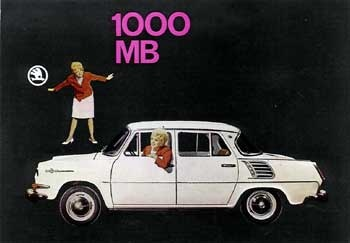 Did this Skoda have a 1,000MB hard drive? Hmm ... #skoda